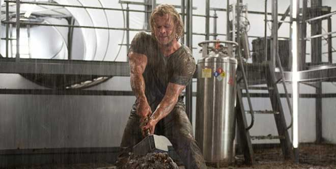 Chris Hemsworth workout Thor