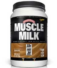 Muscle milk protein shakes