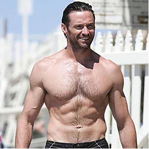 Hugh Jackman Wolverine Muscle
