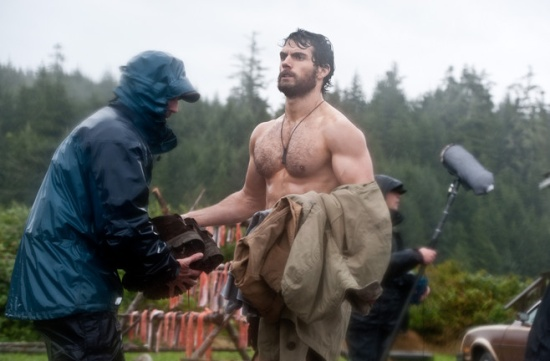 Henry Cavill Muscle